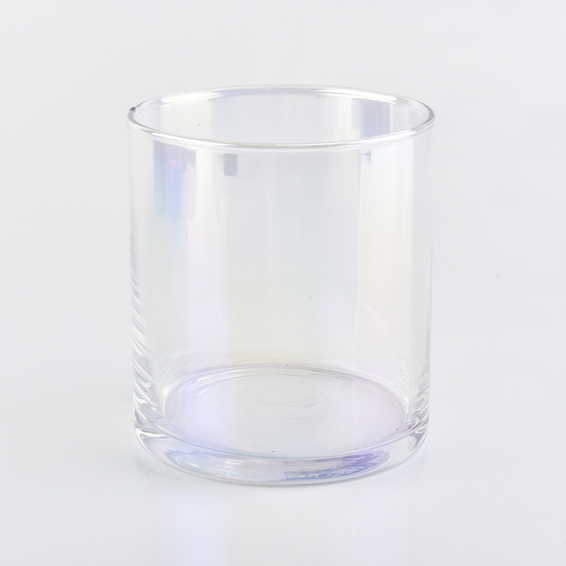 2019 new luxury 540ml Ion plating glass candle holder