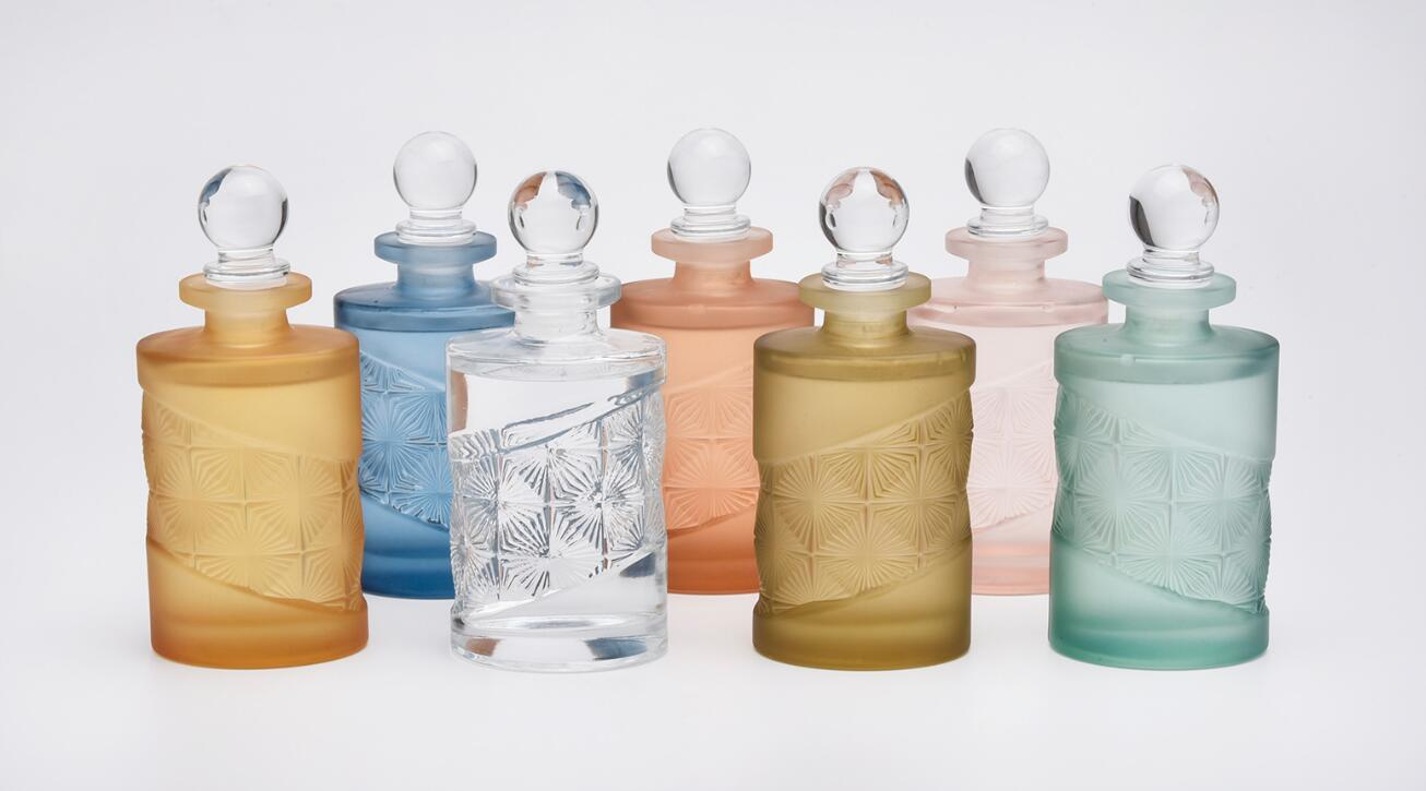 luxury glass diffuser bottles with gift box