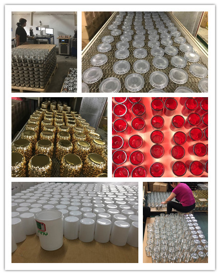 glass candle production