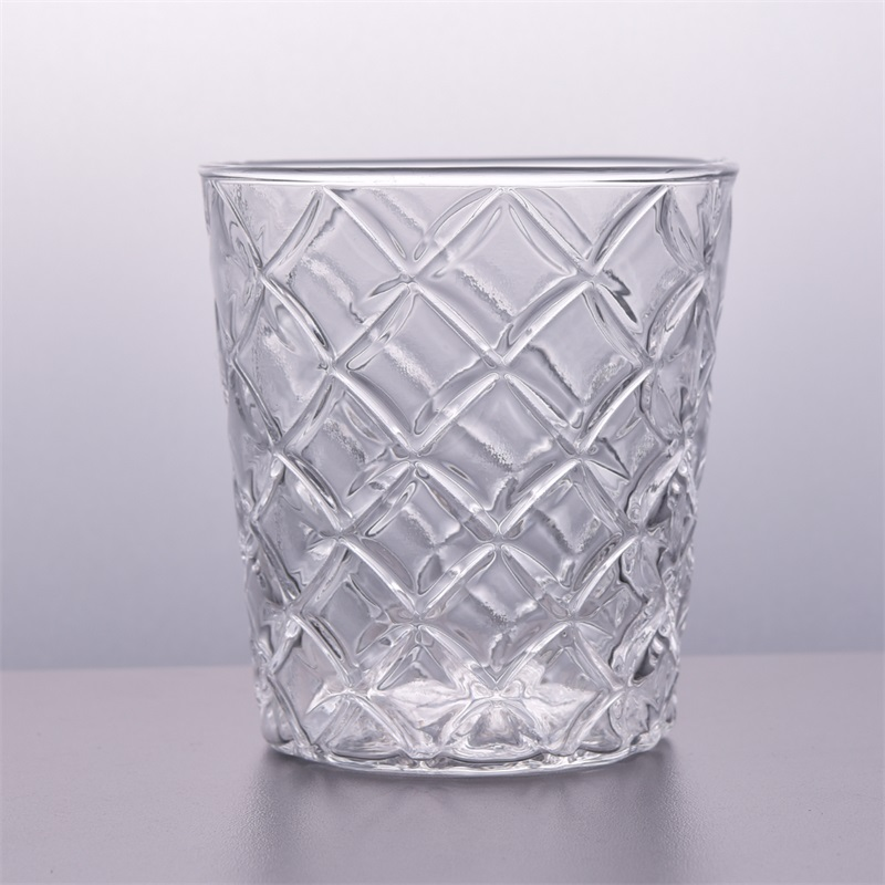 12oz clear glass votive candle cup wholesale series
