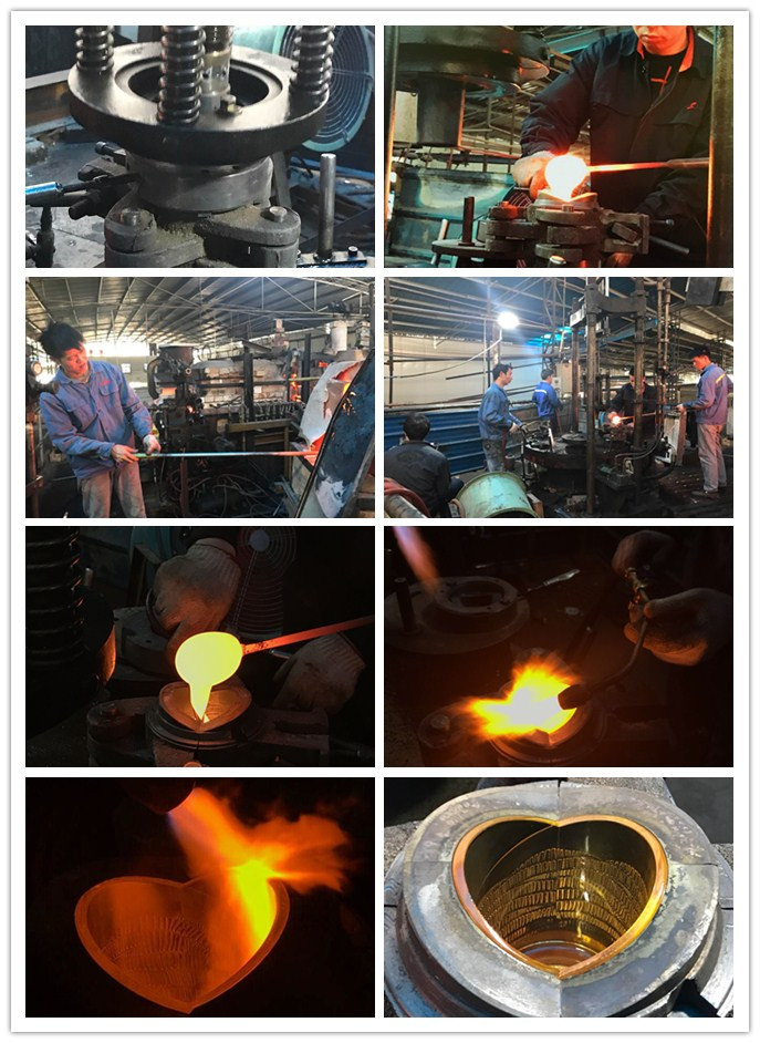 glass mass production