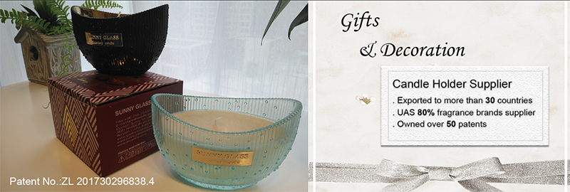 Candle Containers supplied for over 80 percent famous candle brand in the USA