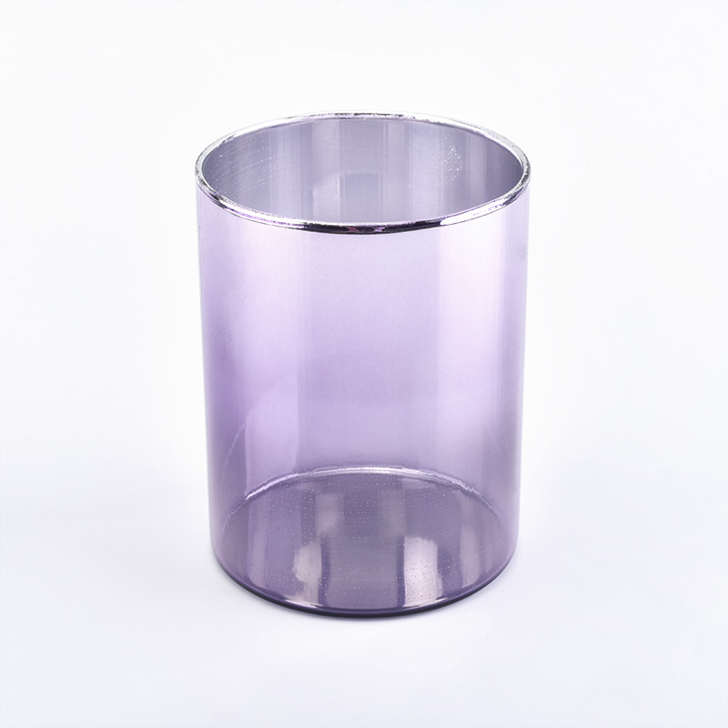Newest ion plating glass candle holder