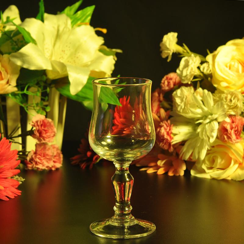 goblet candle holder
