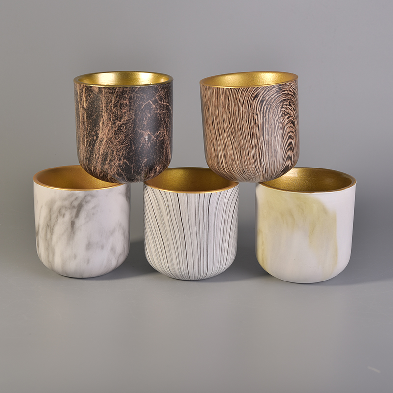 wax cup ceramic pottery candle holders