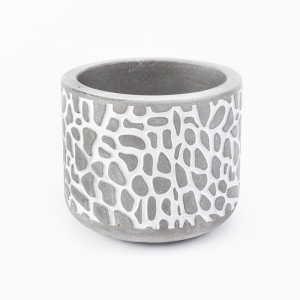 6oz concrete candle holders