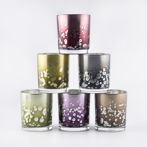Luxury Scented Candles With Glass Candle Vessel