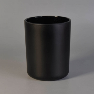 Matte Black Gold Rose Gold 16oz Glass Candle Jars Wholesale