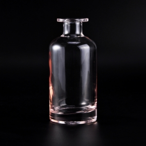 Wholesale Pink Color Glass Disffuser Fragrance Bottles