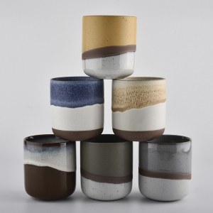 hot sales size ceramic candle jars