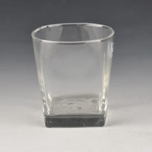 Whisky Glass With Square Bottom China Drinking Glass