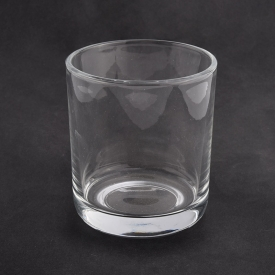 China 10oz clear jar with round bottom for candle filling factory