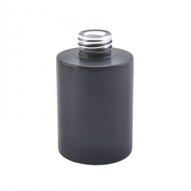 China kilang 120ml Aroma Diffuser Glass Bottle dengan Matte Black Color