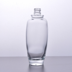 China 130ml Crystal perfume bottle glass wholesale factory