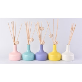 China 200ml Macarons Ceramic Diffuser Bottles Home Decor factory
