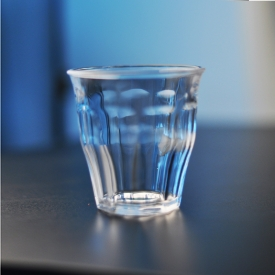 China 200ml drinking water cup tumbler glass factory