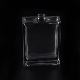 China 20ml small square glass perfume bottles factory