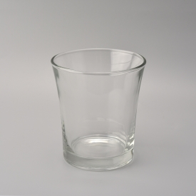 China 22 oz filling taper glass votive candle cup factory