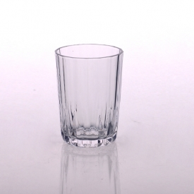China 220ml Clear Water Glass Wine Cup for Family and Bar factory