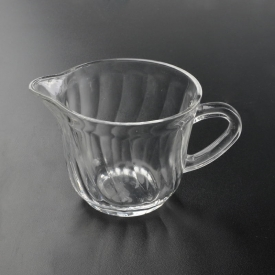 China 223ml glass coffee mug factory