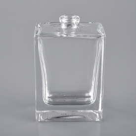 China 30ml square glass perfume bottles with spray factory