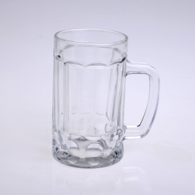 China 320ml clear beer glass factory