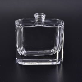 China 50ml clear glass perfume bottle for personal care factory