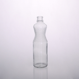 China 650ml glass juice bottle manufacturers with screw cap factory