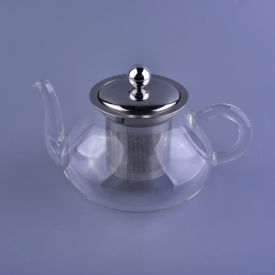China Borosilicate tea pot coffee cup glass 500 ml factory