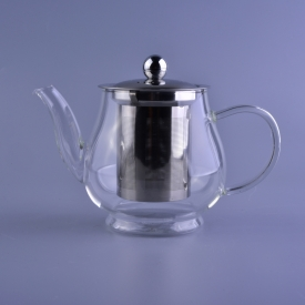 China Borosilicate water kettle coffee turkish glass tea pot factory