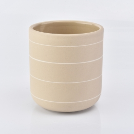 China Ceramic Candle Jars Candle Holders 400ML Wholesale factory