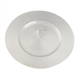 China Circle round target wands shape glass plate factory