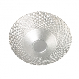 China Clear glass beaded plate without handle factory