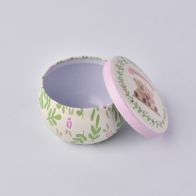 China Custom 2oz tin box for scent candle factory