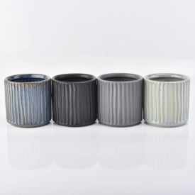 China Decorative Ceramic Candle Jars Wholesale factory