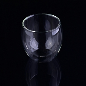 China kilang Gelas dinding Double Insulated glass shot glass