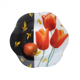 China Food Safety Glass Plate for Fruits, Food, Candy factory