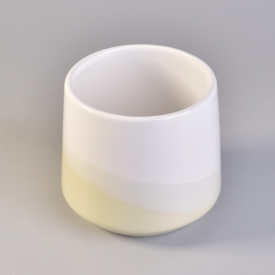 China Glazing ceramic candle vessels for home fragrance factory