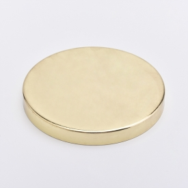 China Gold Stainless steel Metal Lids for Candle Jars factory