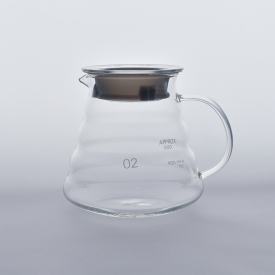 China Heat resistant borosilicate glass pot for coffee water factory