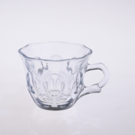 China Heat resistant glass tea cup factory