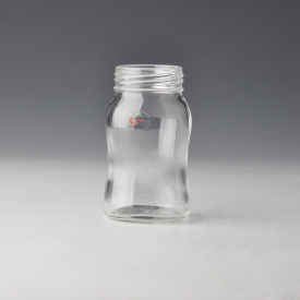 China High quality feeding container glass milk bottle factory