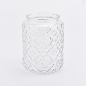China Hot Sell Classical Candle Glass Container For Home Scented Candles factory