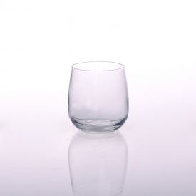 China Hot popular drinking glass for stemless wine glass cups factory