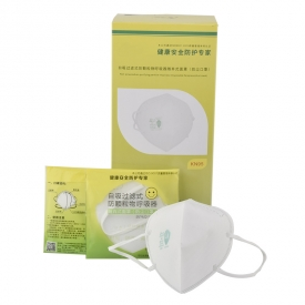 China KN95 ear-loops No-Powered air-purifying respirator disposable facepiece factory