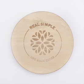 China Laser Engraved Pine Wood Lids For Candle Jars factory
