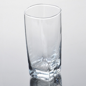 China Long body water and juice glass tumbler factory