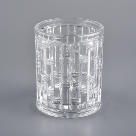 China Luxury Crystal Glass Candle Holder factory