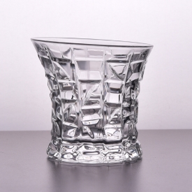 China Luxury crystal transparent glass whisky cup set factory