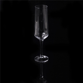 China Luxury high quality flute champagne glass factory
